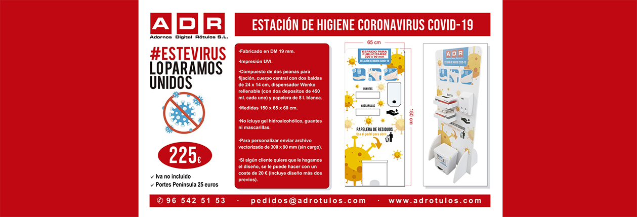 PUBLICIDAD COVID-19 ESTACION HIGIENE