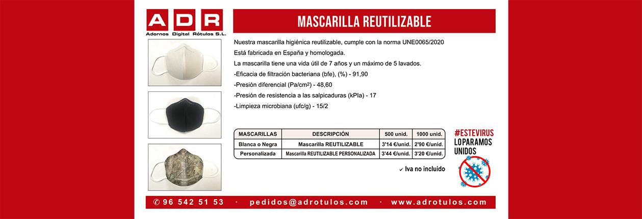 PUBLICIDAD COVID-19 MASCARILLA